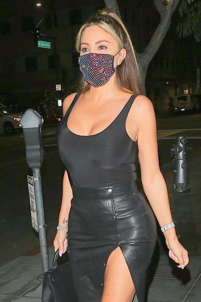 Larsa Pippen Steps Out For A Night Out In Beverly Hills