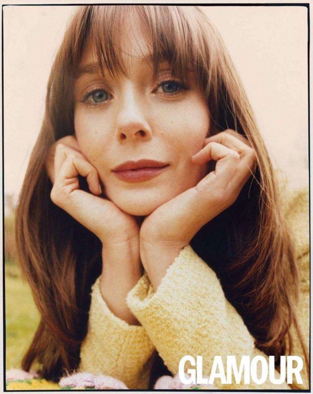 Gorgeous Elizabeth Olsen In Glamour Magazine Spain (June 2021)