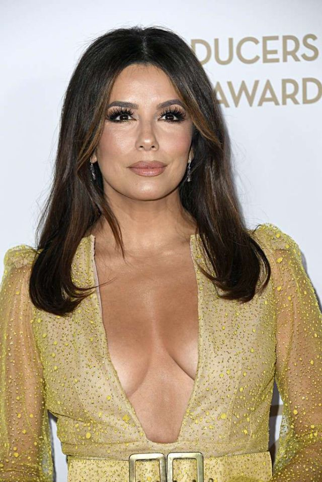 Gorgeous Eva Longoria Shines At Producers Guild Awards In Los Angeles