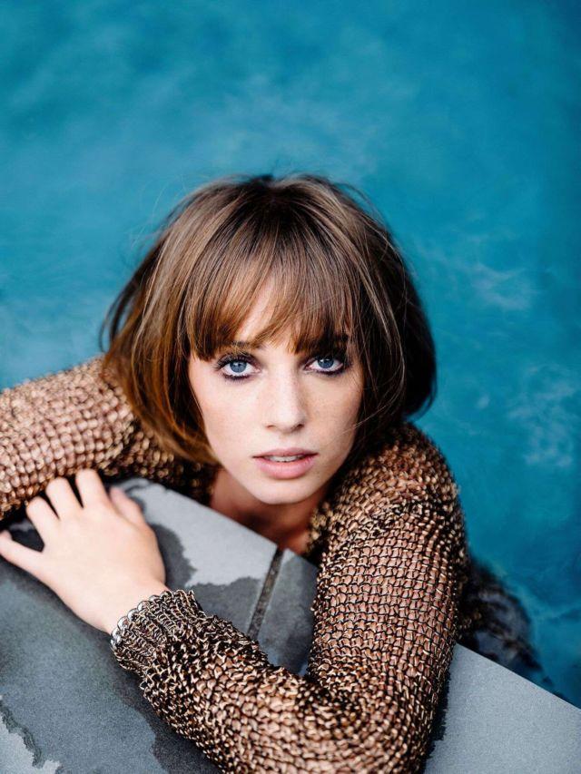 Gorgeous Maya Hawke Shoots For Flaunt Magazine