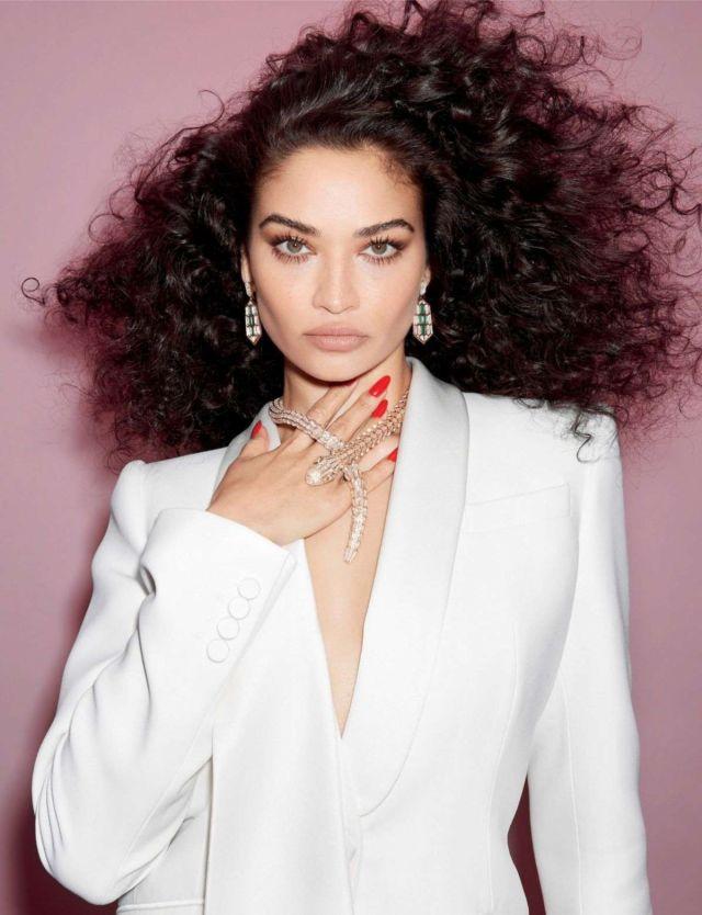 Beautiful Shanina Shaik For Harper's Bazaar Magazine Singapore 2021