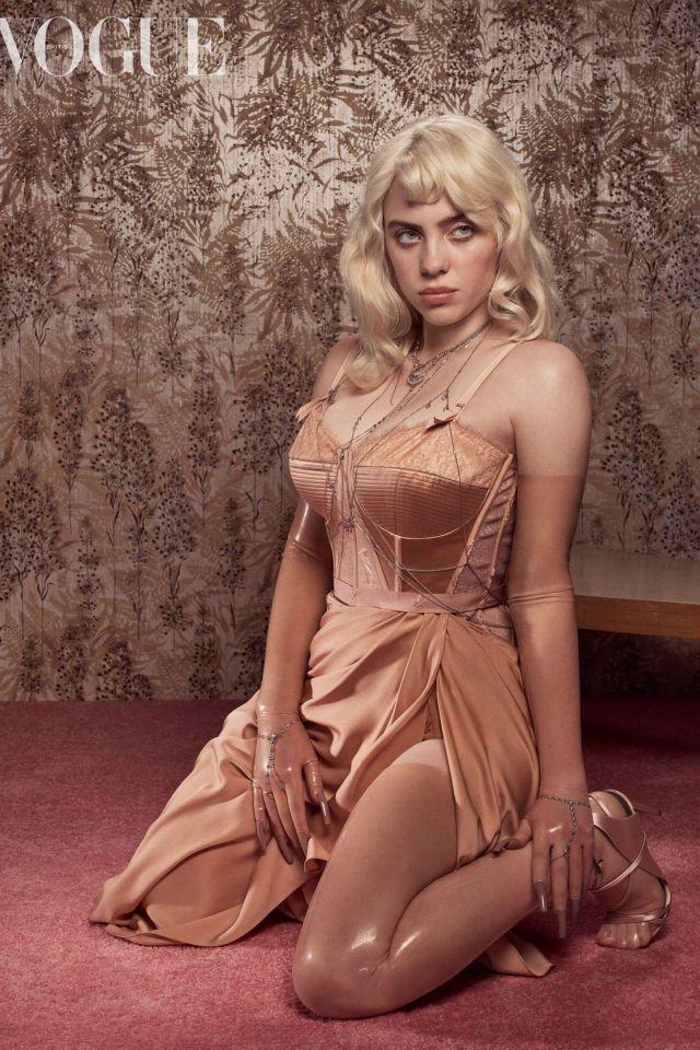 Glamorous Billie Eilish Photoshoot For Vogue UK Magazine (June 2021)