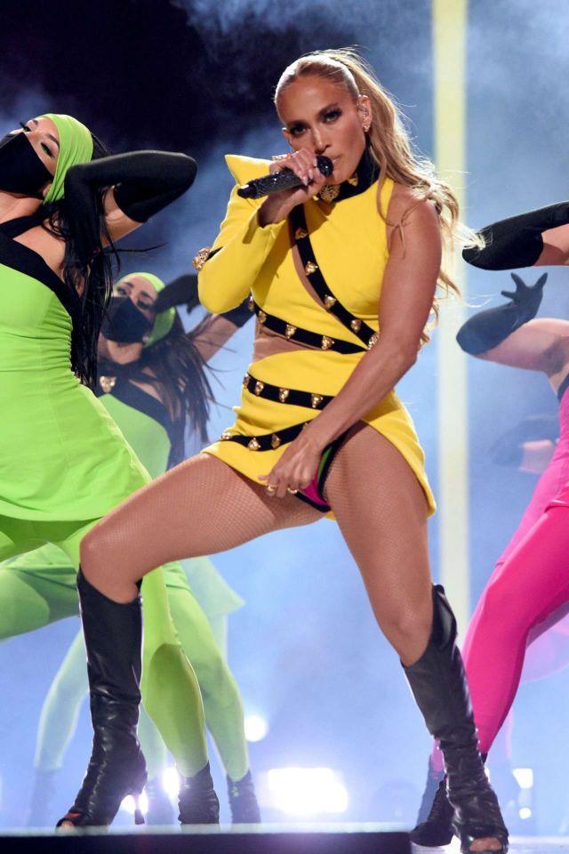 Jennifer Lopez Rocks The Stage At Global Citizen Vax Live Concert