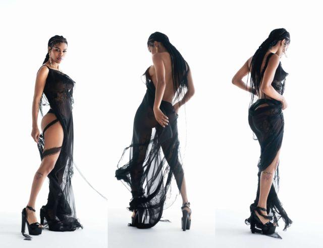 Teyana Taylor Glams Up Maxim Magazine's July/Aug 2021 Edition