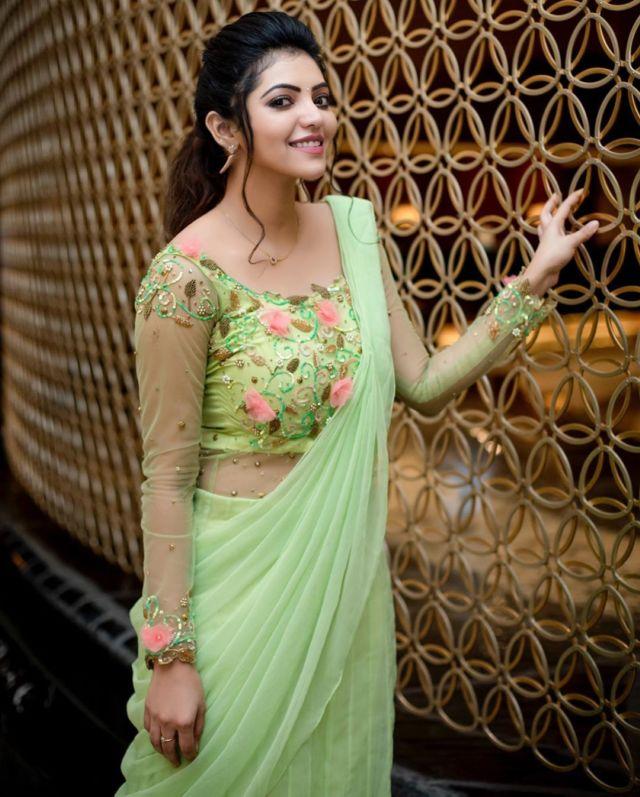 Indian Actress Athulya Ravi's Beautiful Photo Gallery