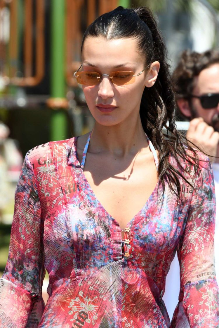 Bella Hadid Out And About Candids In Cannes