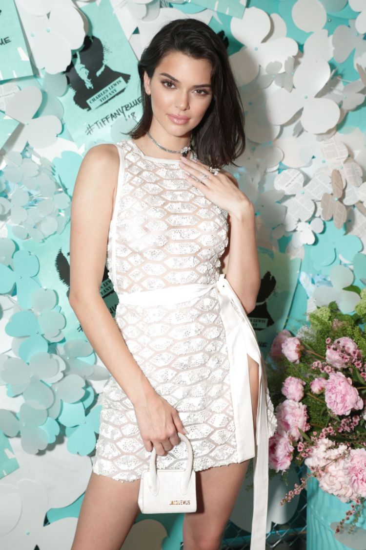 Kendall Jenner Look Pretty At The Tiffany & Co. Jewelry Collection Launch
