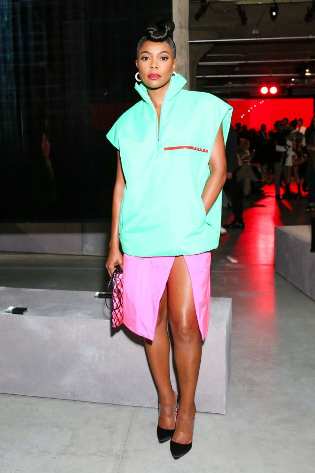 Gabrielle Union At The Prada Resort 2019 Show