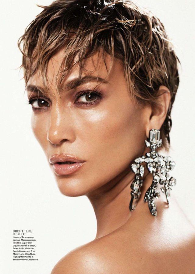 Jennifer Lopez Glams Up Allure Magazine (March 2021)