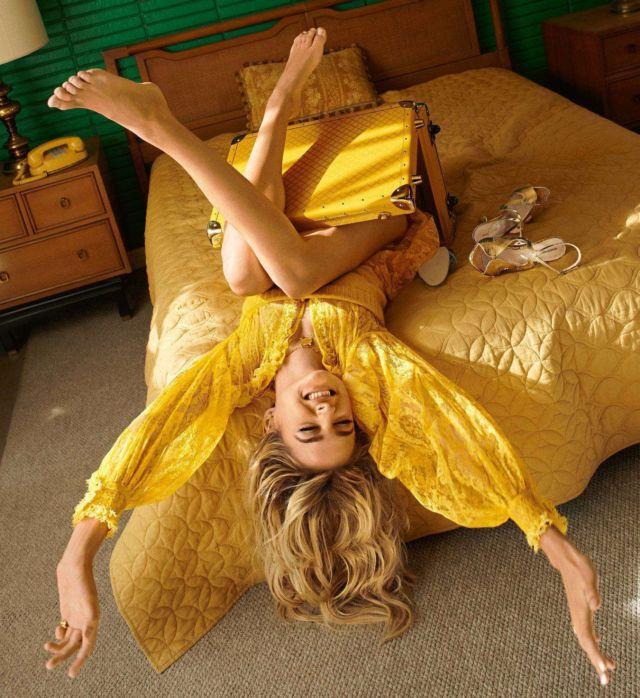 Beautiful Charlotte Lawrence Shoots For Cosmopolitan Magazine