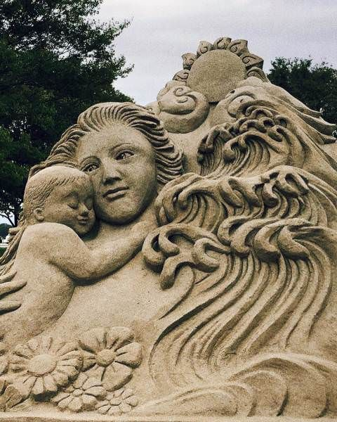 A Collection Of Some Amazing Sand Art