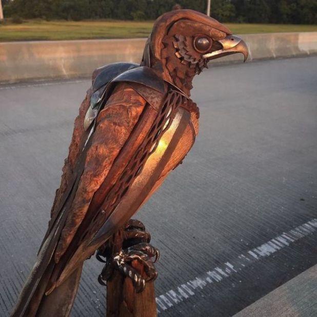Spectacular Metallic Sculptures By Matt Wilson