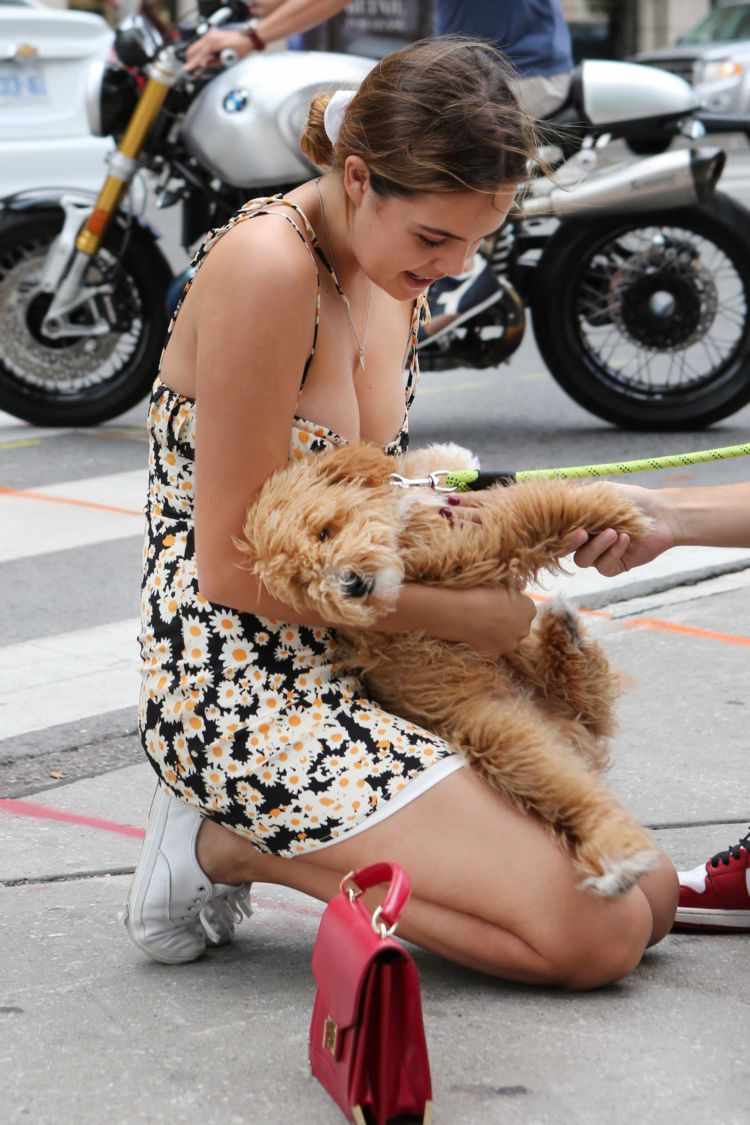 Bailee Madison Spotted Out With Her Boyfriend And Dog In Toronto