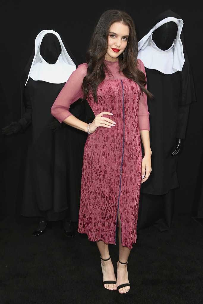 Pretty Lilimar Hernandez At The Premiere Of 'The Nun'