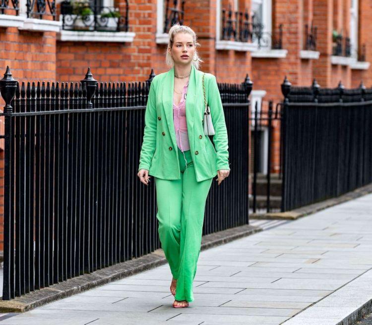 Beautiful Lottie Moss Spotted Out in London