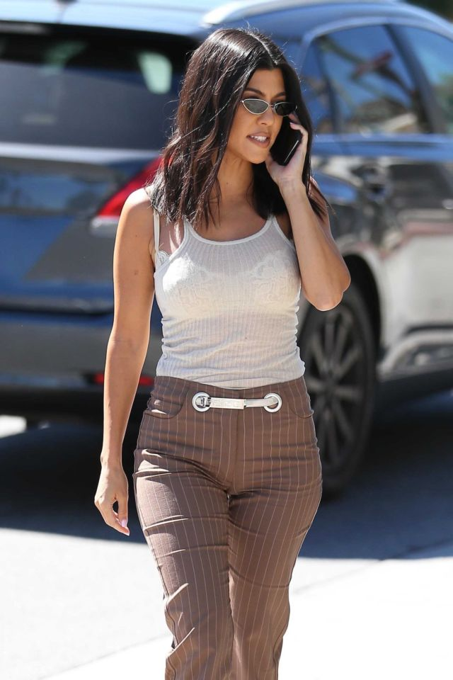 Kourtney Kardashian Out And About Candids In Los Angeles
