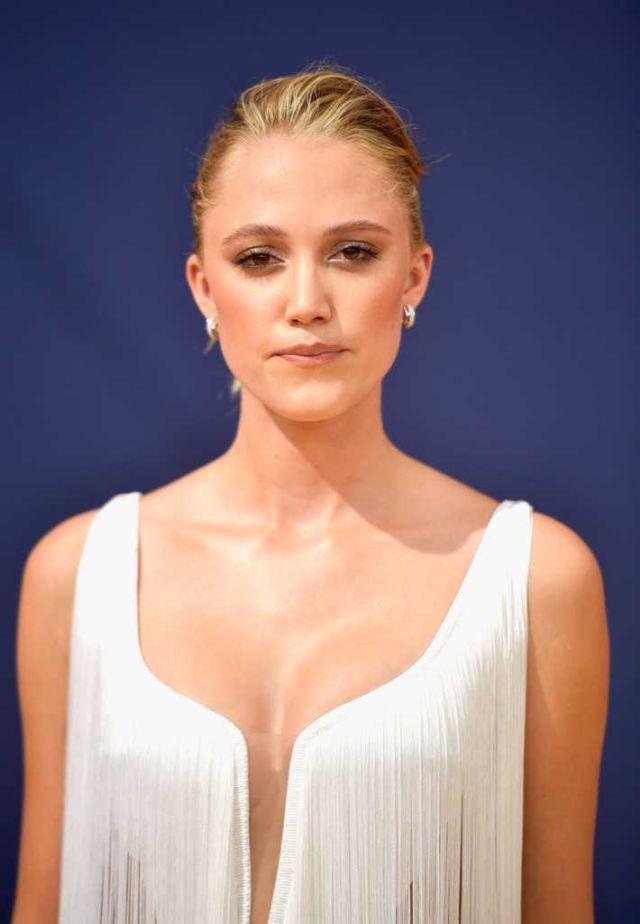 Maika Monroe Atents 70th Emmy Awards In LA