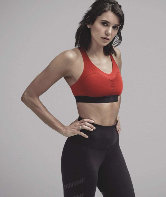 Nina Dobrev Poses For Reebok 2019 Shoot