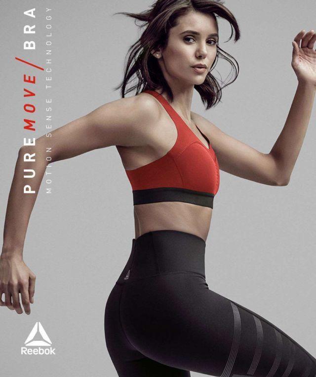 Nina Dobrev Poses For Reebok 2019 Shoot