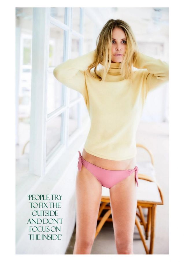 Gorgeous Elle MacPherson In Red Magazine UK (August 2020)