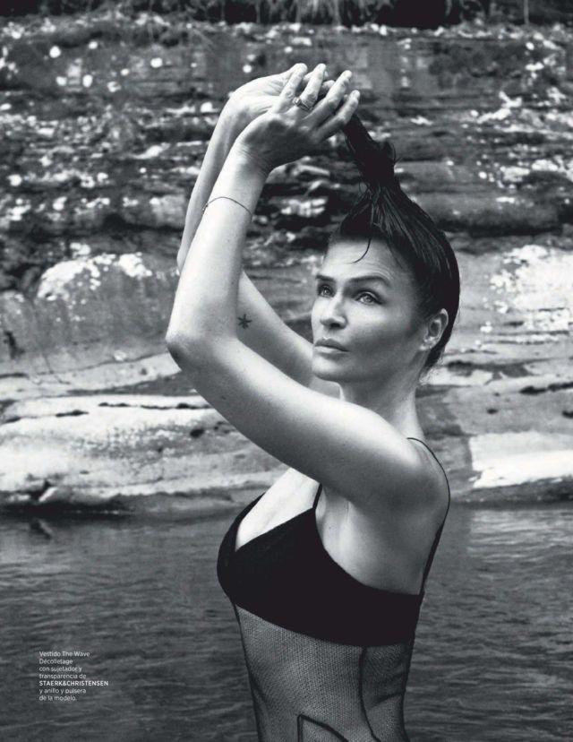 Beautiful Helena Christensen For Harper's Bazaar Spain - August 2020