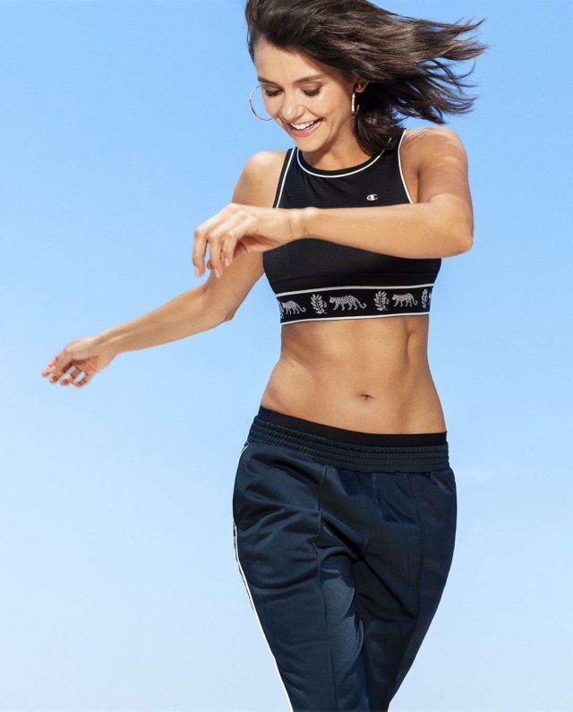 Nina Dobrev Glams Up Women's Health Magazine Jan 2019
