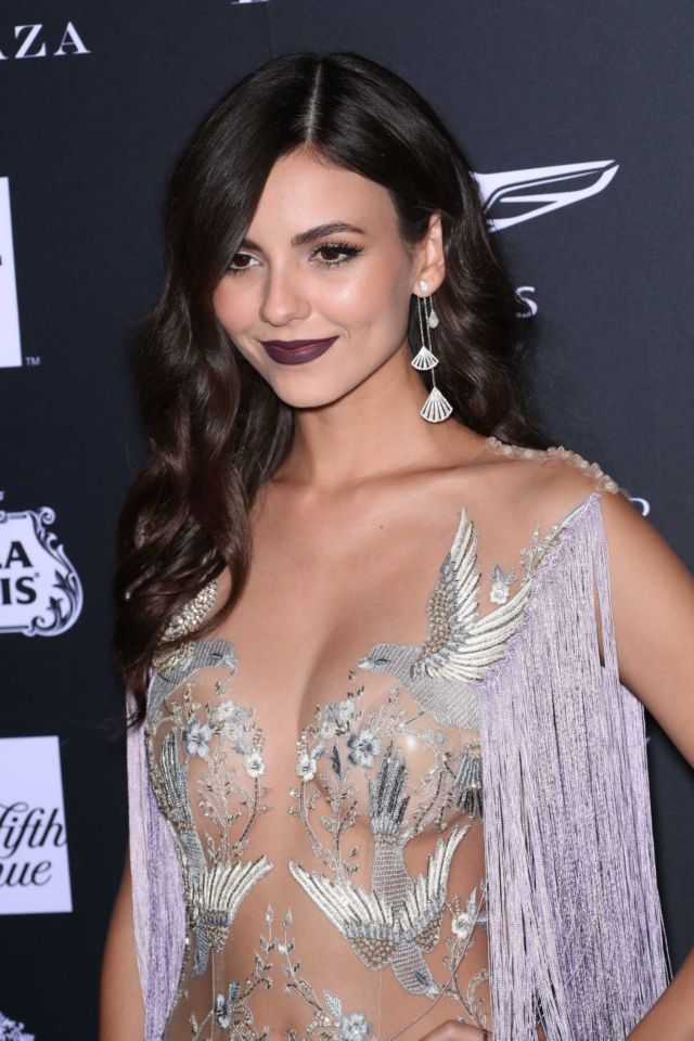 Sensational Victoria Justice At Harper's Bazaar ICONS Party