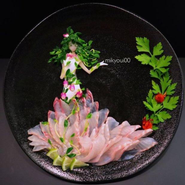 A Japanese Artist Makes Stunningly Beautiful Fish Art