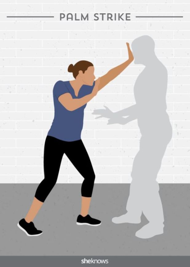 6 Simple Yet Powerful Self-Defense Moves For Women