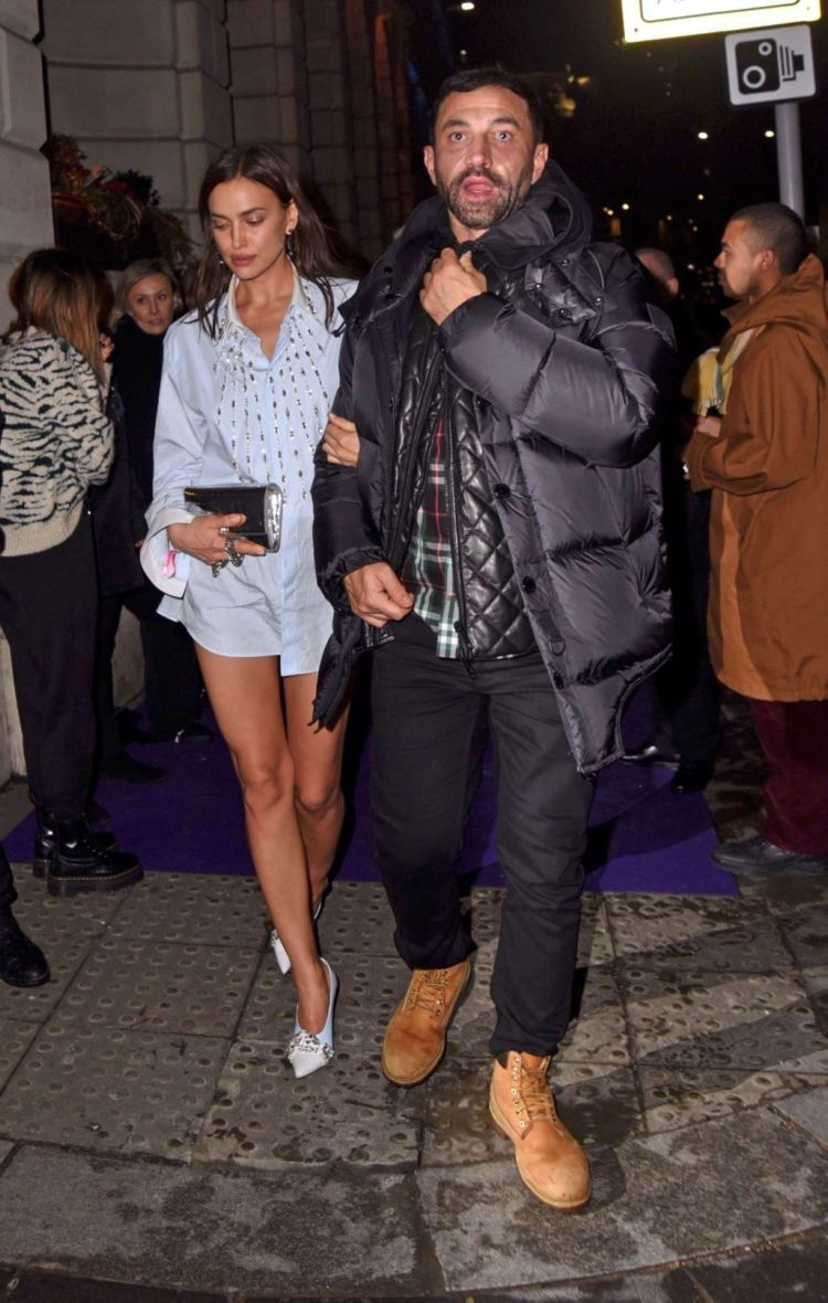 Irina Shayk Candids At Universal Music BRIT Awards After-Party In London