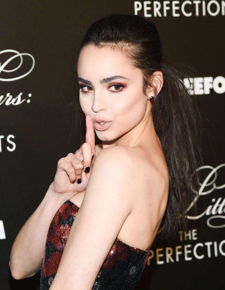 Pretty Sofia Carson Attends 'Pretty Little Liars: The Perfectionists' Premiere