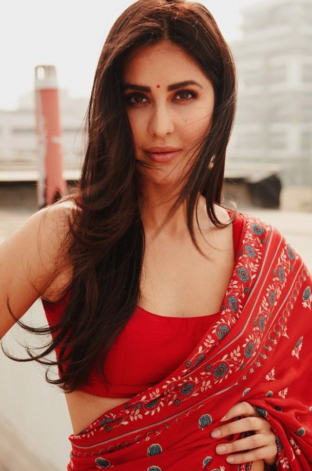 Katrina Kaif Looks Absolutely Stunning In A Saree