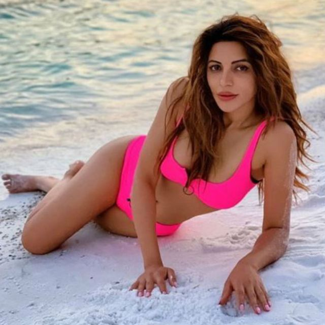 Shama Sikander Is All Set To Woo You With Her Swimwear Pictures