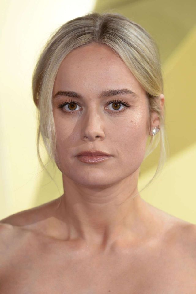 Brie Larson Looked Gorgeous In Blue At Captain Marvel Premiere