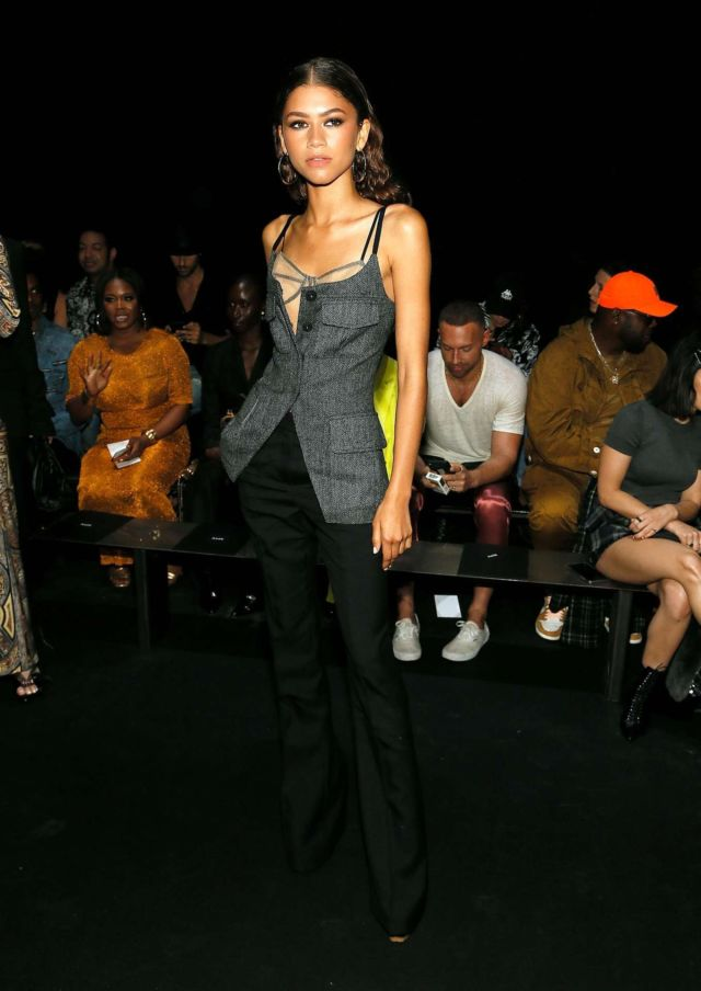 Zendaya Coleman Attends The Vera Wang Fashion Show