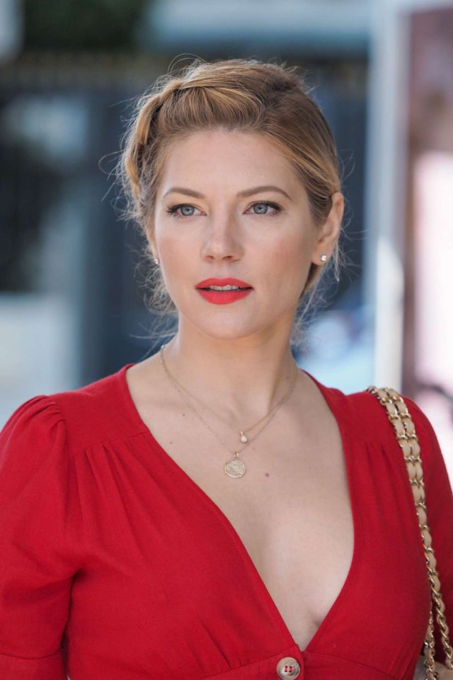 Katheryn Winnick Spotted Outside The Hotel Martinez In Cannes