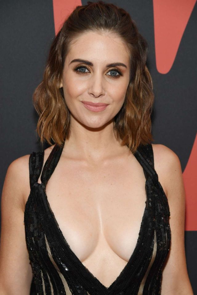Hottie Alison Brie Attends MTV Video Music Awards 2019