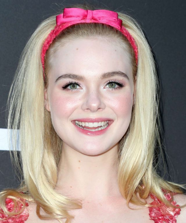 Pretty Elle Fanning At Bleecker Street's 'Teen Spirit' Special Screening