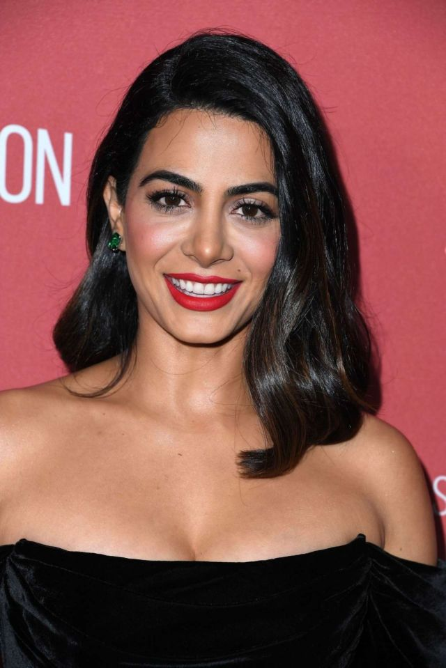 Gorgeous Emeraude Toubia In Black At SAG-AFTRA Foundation's 4th Annual Patron Of The Artists Awards