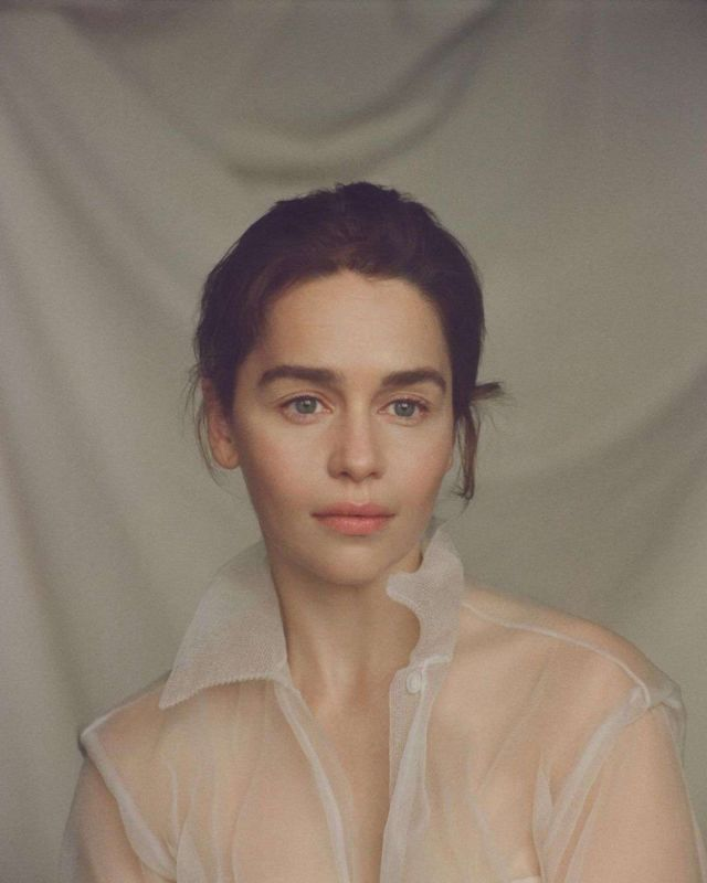 Emilia Clarke Shoots For The New Yorker Magazine