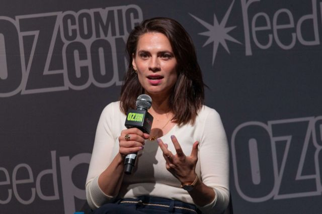 Hayley Atwell For Q&A At Oz Comic-Con 2019 In Sydney