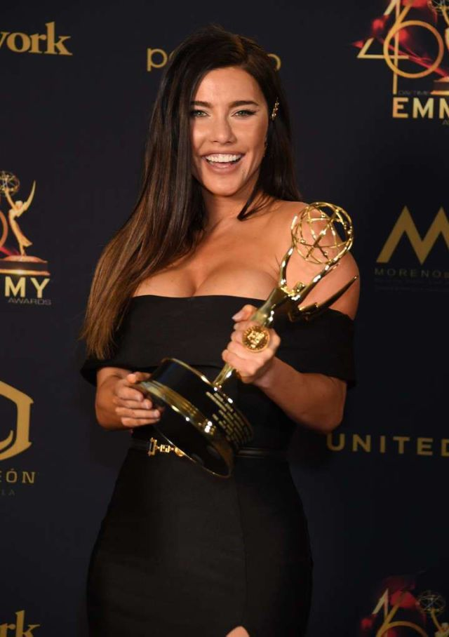 Beautiful Jacqueline MacInnes Wood At Daytime Emmy Awards