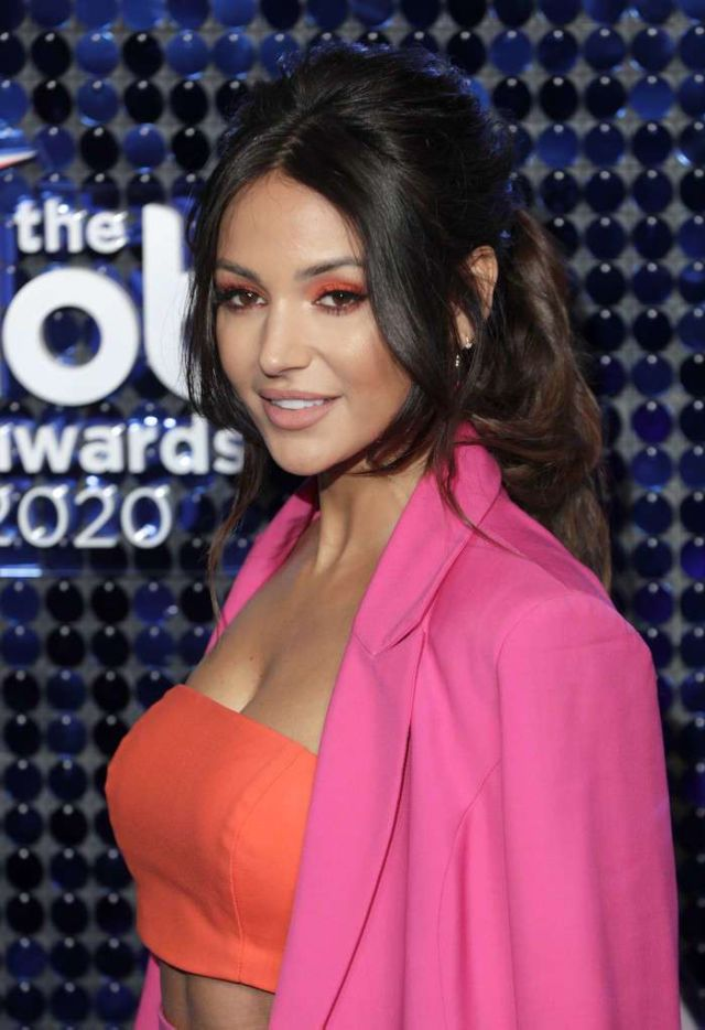 Beautiful Michelle Keegan Attends The Global Awards 2020