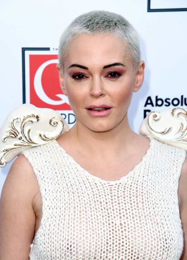 Rose McGowan Attends Q Awards 2019 In London