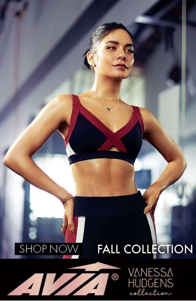 Sporty Vanessa Hudgens Showcasing Vanessa Hudgens Collection x Avia Fitness By Mike Rosenthal