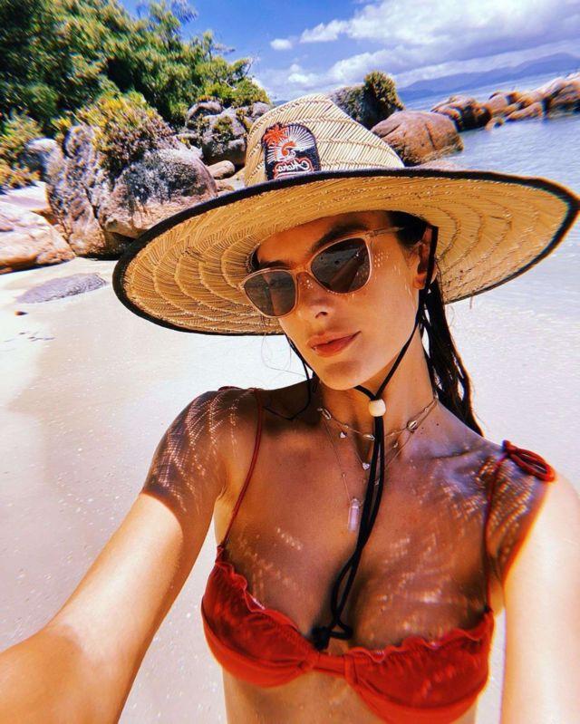 Alessandra Ambrosio Holidaying At The 'Las Piedras Beach Club'