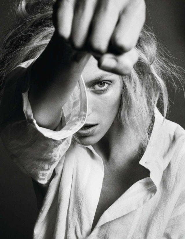 Anja Rubik Shoots For Vogue Magazine France 2019