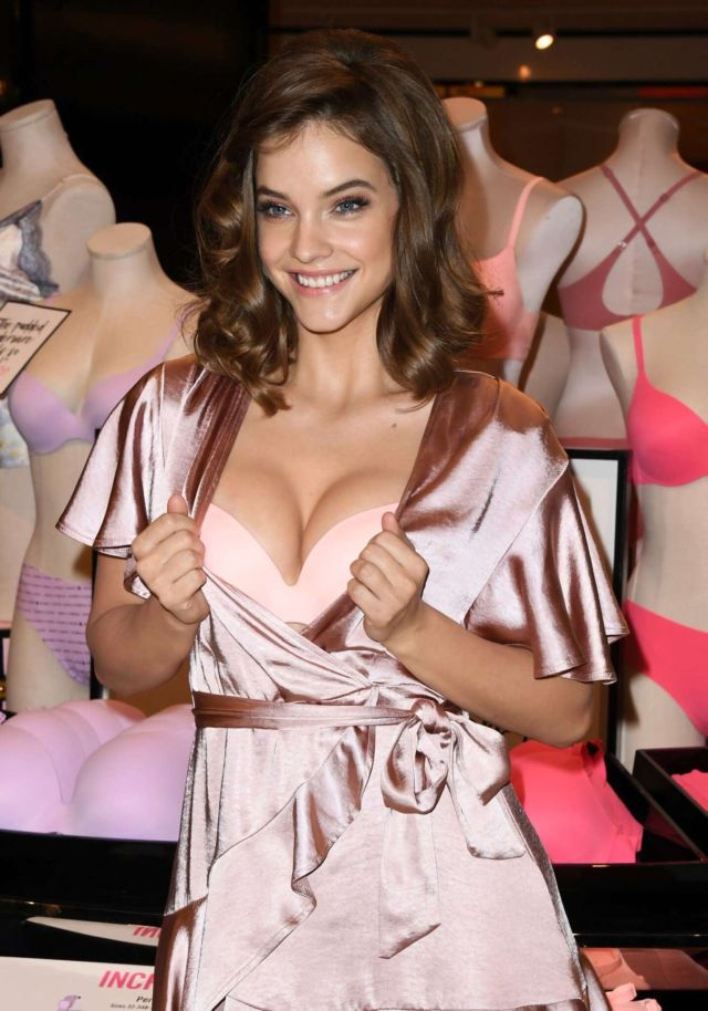 Pretty Barbara Palvin Glams Up Victoria's Secret The Incredible Collection Launch Tour