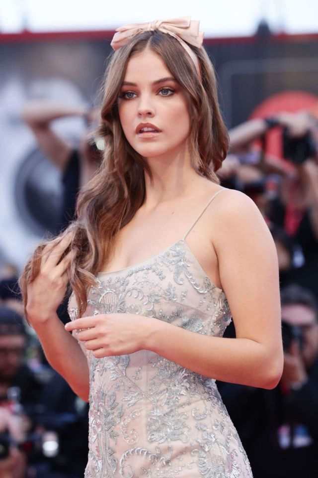 Pretty Barbara Palvin At The Screening Of 'Joker' At Venice Film Festival