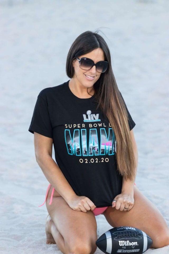 Claudia Romani Looks Fantastic For SuperBowl Weekend Photoshoot 2020